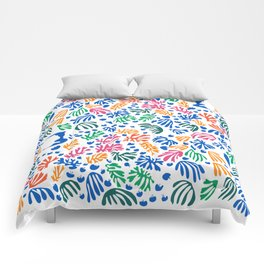 Matisse Colorful Pattern #1 Comforters