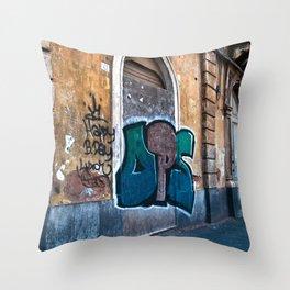 SICILIAN FACADE in CATANIA Throw Pillow