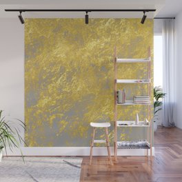 Gold flakes Wall Mural