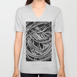 Coiled Rope Unisex V-Neck