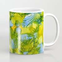 rorschach Mugs featuring Rorschach 2.0 by David A Simon