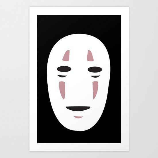 Spirited Away No Face Art Print