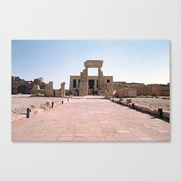 Temple of Dendera, no. 2 Canvas Print