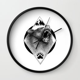 THE KING OF THE MOUNTAIN Wall Clock
