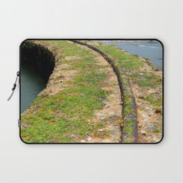 Old Tracks By The Ocean Laptop Sleeve