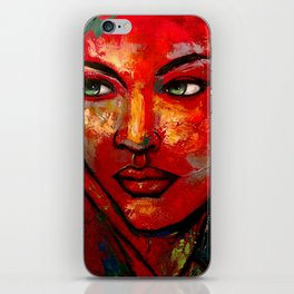 Reticence iPhone Skin