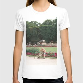Guy in park T-shirt