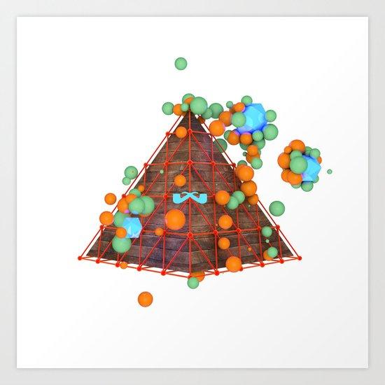 Zenith. Art Print