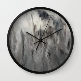Smoke and Mirrors Wall Clock