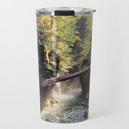 Glowing Creek in Oregon Travel Mug