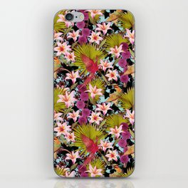tropical lilly iPhone Skin