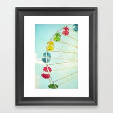 Wheel of Happiness Framed Art Print