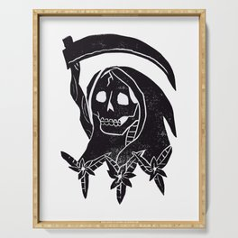 Grim Reaper Serving Tray