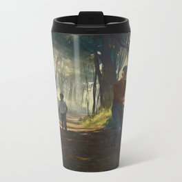 Familiar #8 Metal Travel Mug