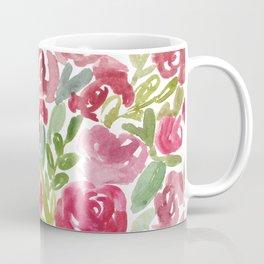 Maya's Garden Watercolor Painting Coffee Mug