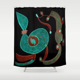 Celestria III Shower Curtain