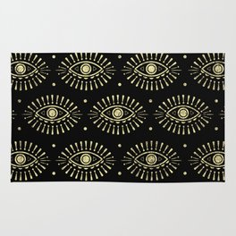 Golden Eyes Rug