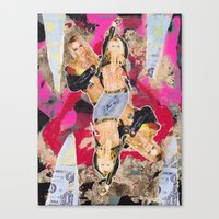 britney Canvas Prints featuring Britney by GREATeclectic