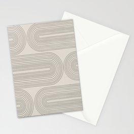 Minimalist, Line Art Modern Stationery Cards