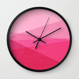 Stripe XI Cotton Candy Wall Clock