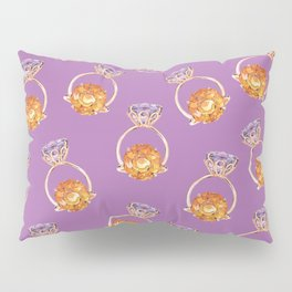 Circles on Purple Pillow Sham