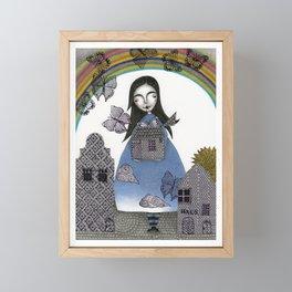 Rainbow Mine (4) Framed Mini Art Print