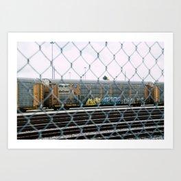 Chain Linked Art Print
