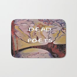 Rimbaud, Dead Poets Art Bath Mat