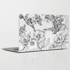 Moths & Camellias Laptop & iPad Skin