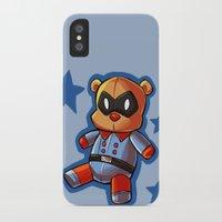 bucky iPhone & iPod Cases featuring bucky!bear by zombietonbo