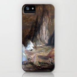 Conrad Martens Stalagmites, Burragalong Cavern iPhone Case