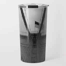 Brooklyn Bridge Cables Travel Mug