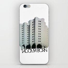 Tacoma Born - St. Josephs Hospital  iPhone Skin