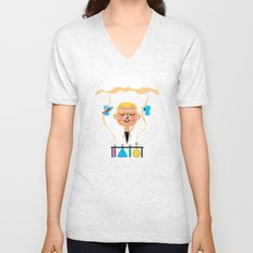 Science is Fun Unisex V-Neck
