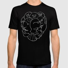 Heads N°9 Black MEDIUM Mens Fitted Tee