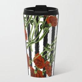 Carnation - Birth Month Flower for January Travel Mug
