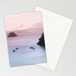 Love Bay Ocean Sunset Stationery Cards