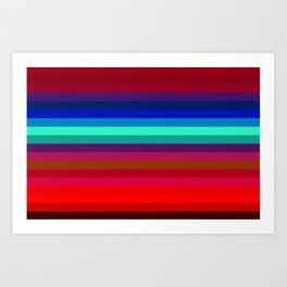 Re-Created Spectrum LIX by Robert S. Lee Art Print