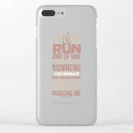 Faul Sport Fitness Sloth Sofa Tired Gift Clear iPhone Case