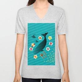 Ocean Harmony Unisex V-Neck