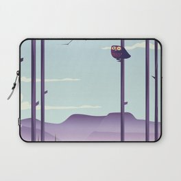 Owl in the woods Laptop Sleeve
