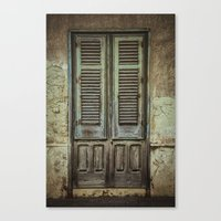 italian Canvas Prints featuring Italian Door III by Maria Heyens