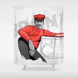 Grandmaster Flash - TrincheraCreativa Shower Curtain