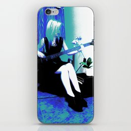 Rock Cameo Bass Blues, Guitar iPhone Skin