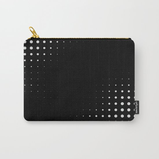 Black raster - Optical game12 Carry-All Pouch
