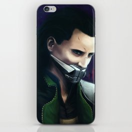 Muzzled Loki iPhone Skin