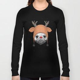 Pug Rudolph Long Sleeve T-shirt