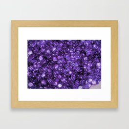 Pebbles By The Sea Framed Art Print
