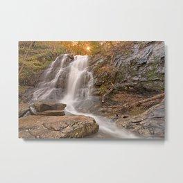 Jones Sun Waterfall Metal Print