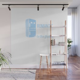 Fridge -I enjoy long romantic walks. To the fridge Wall Mural